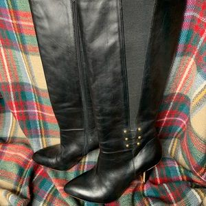 Women's 10 Saks Fifth Avenue Leather Boots NWT